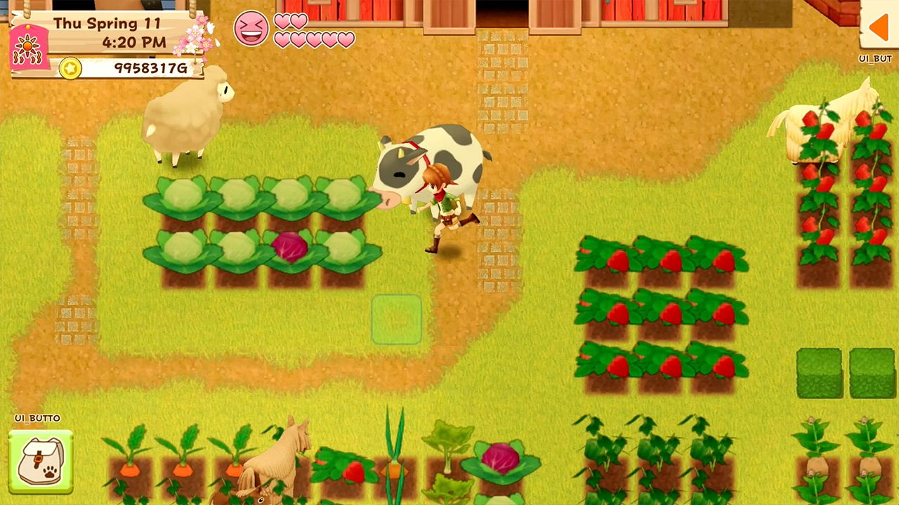 Screenshot from Harvest Moon: Light of Hope Special Edition (1/6)