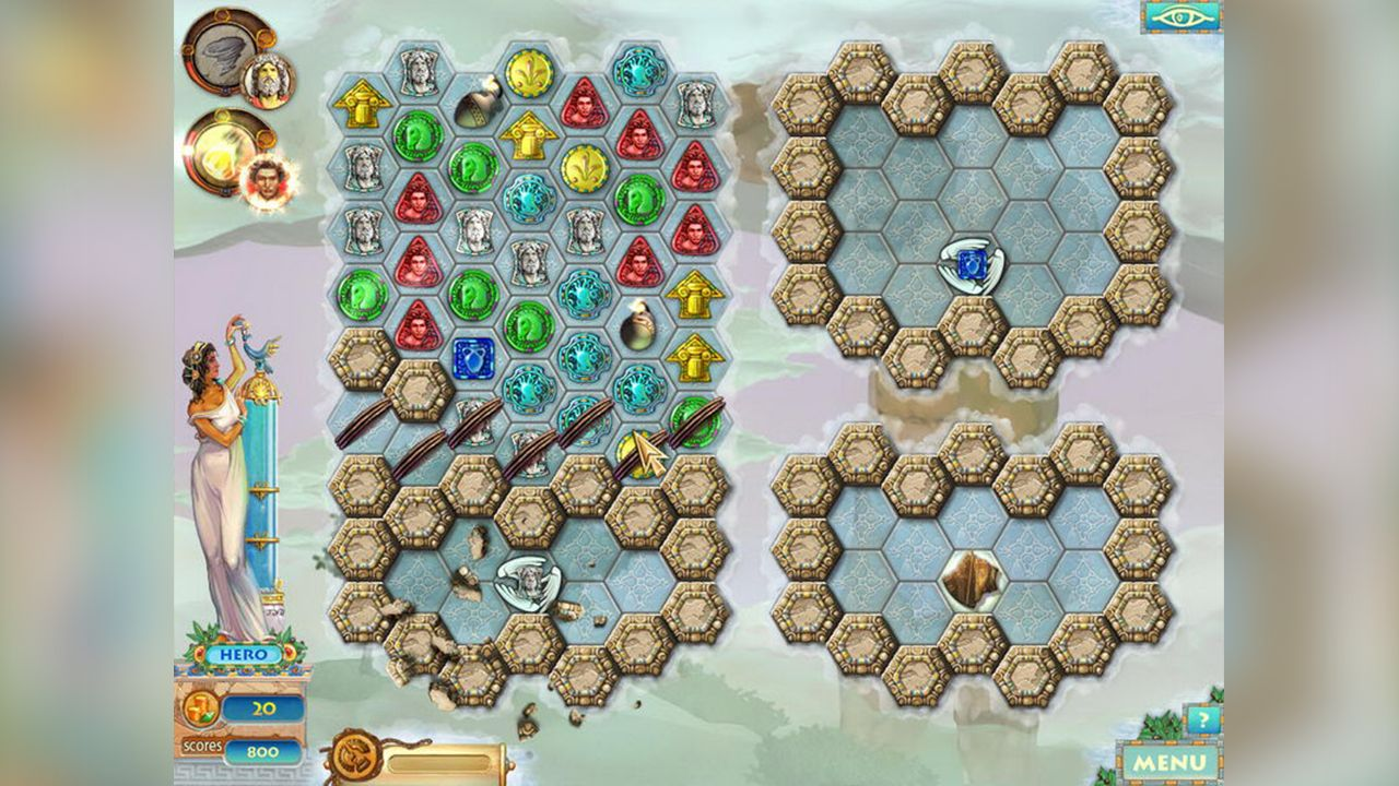 Screenshot from Heroes of Hellas 2: Olympia (5/8)
