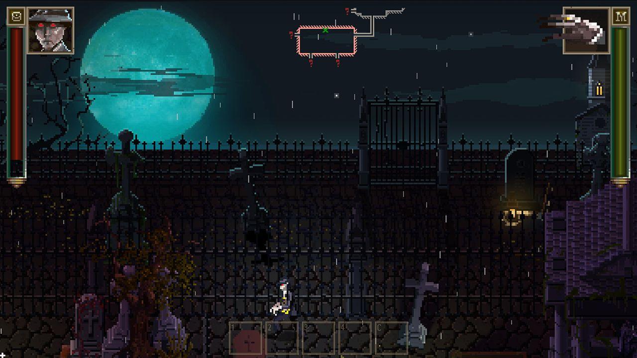 Screenshot from Lovecraft's Untold Stories (9/10)