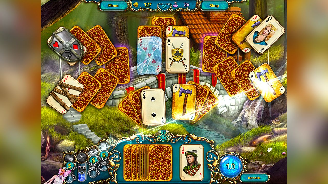 Screenshot from Dreamland Solitaire (8/8)