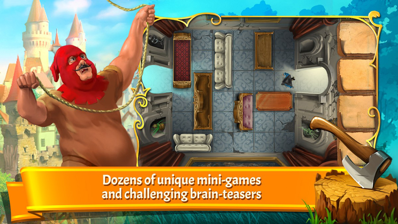 Screenshot from The Surprising Adventures of Munchausen (2/5)
