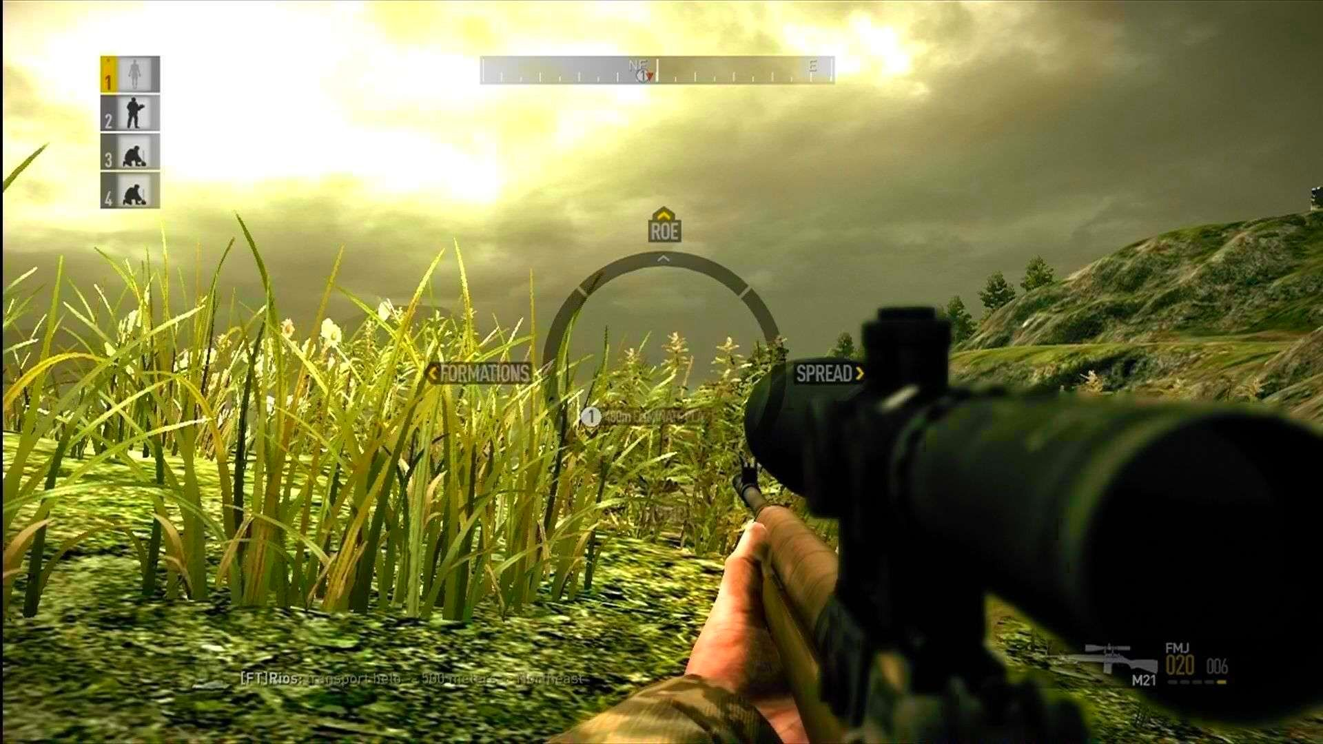 Screenshot from Operation Flashpoint: Dragon Rising (3/5)