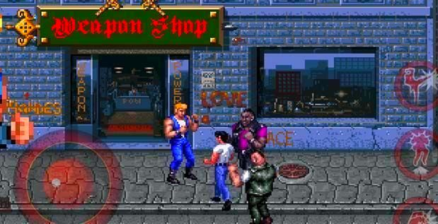 Screenshot from Double Dragon Trilogy (4/4)