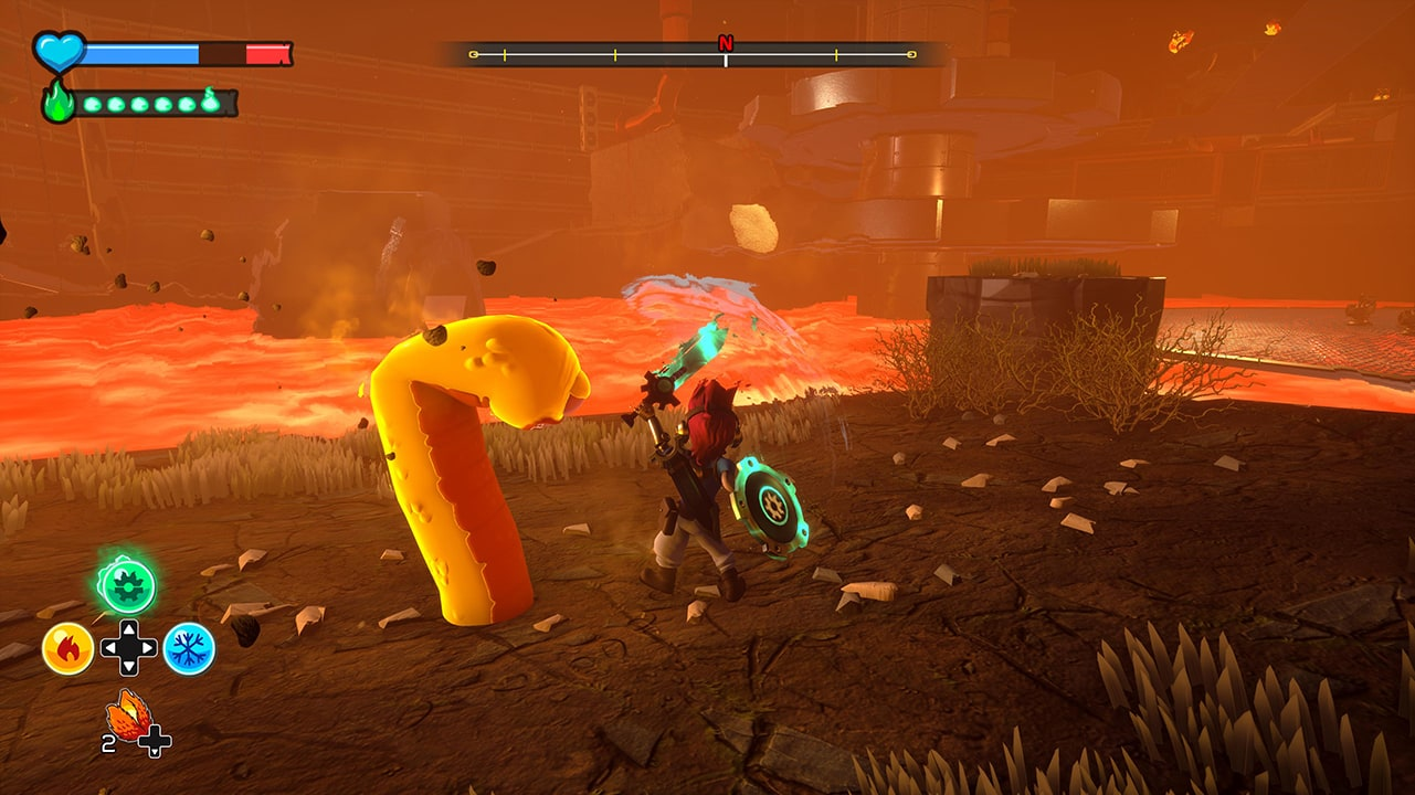 Screenshot from A Knight's Quest (5/5)