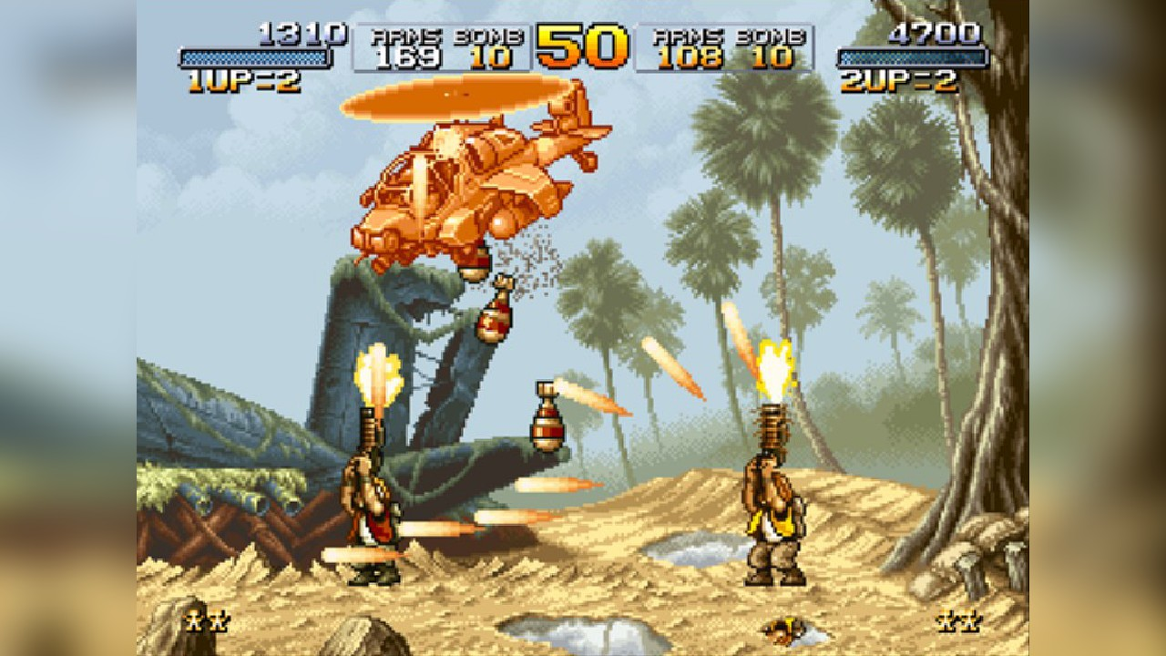 Screenshot from Metal Slug (6/9)