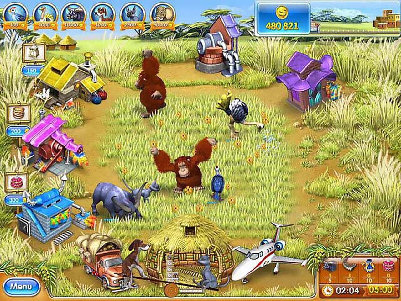 Screenshot from Farm Frenzy 3: Madagascar (4/6)