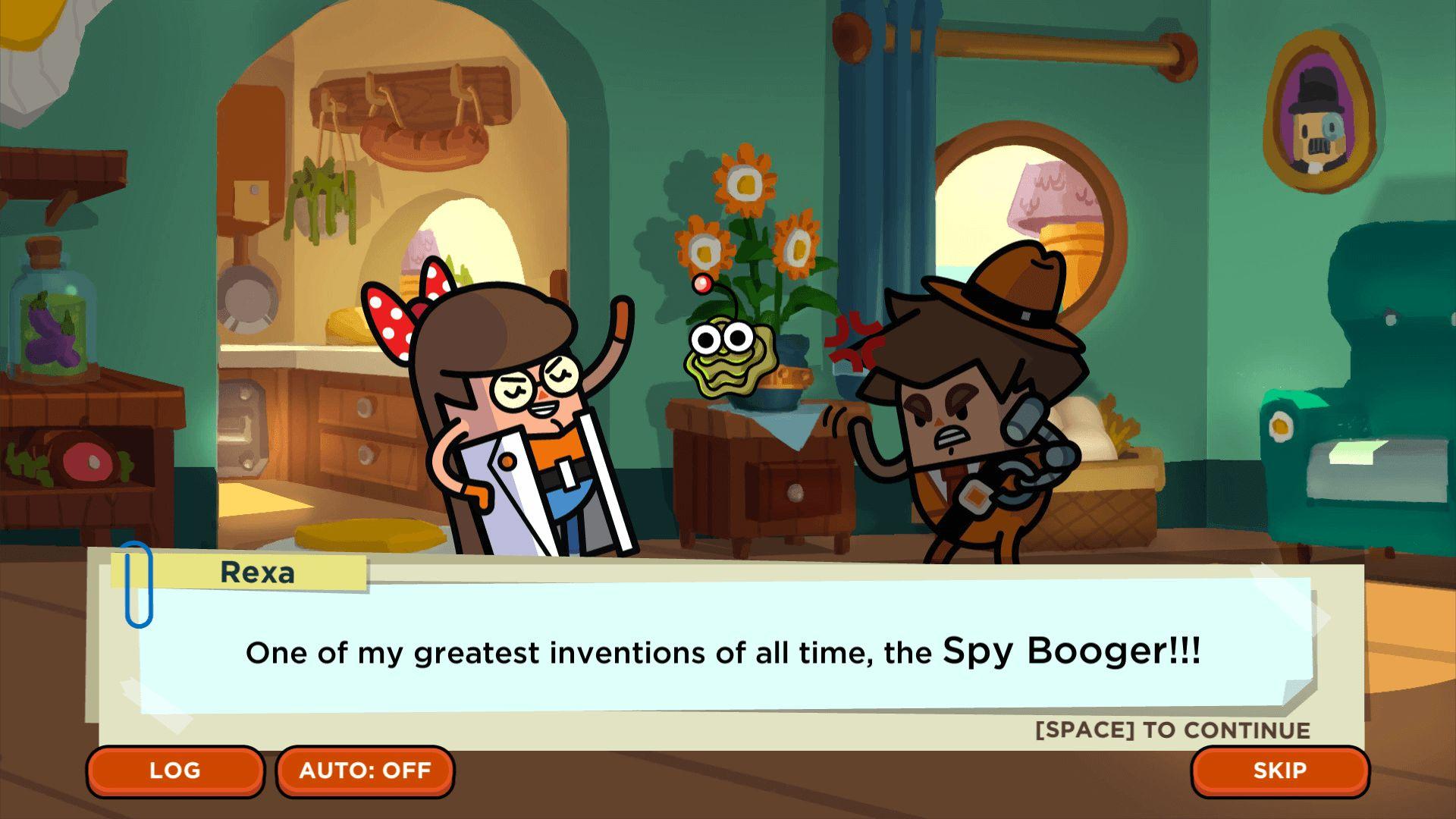 Screenshot from Holy Potatoes! A Spy Story?! (5/8)