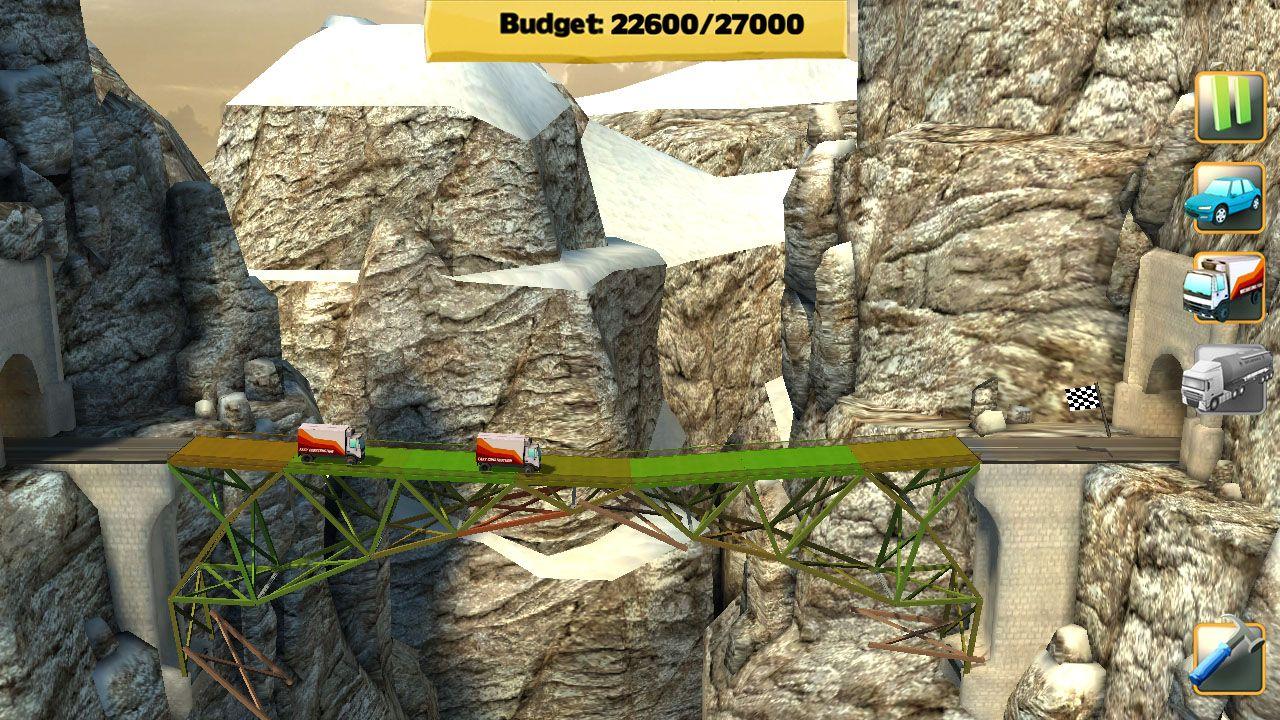 Screenshot from Bridge Constructor (4/7)