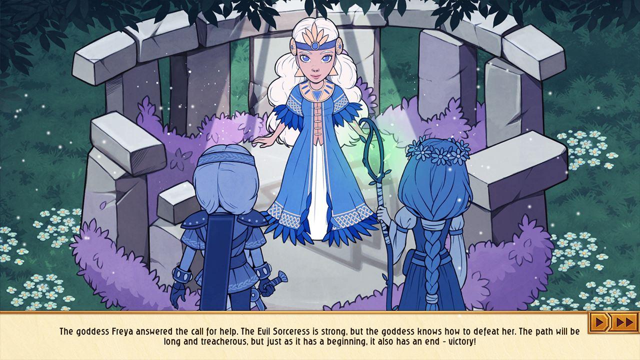 Screenshot from Viking Sisters (9/10)