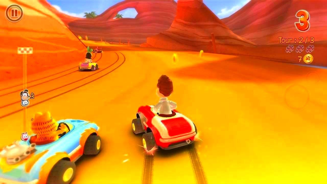 Screenshot from Garfield Kart (9/10)