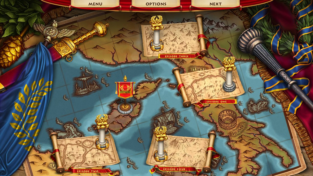 Screenshot from Roads of Rome: New Generation (1/7)