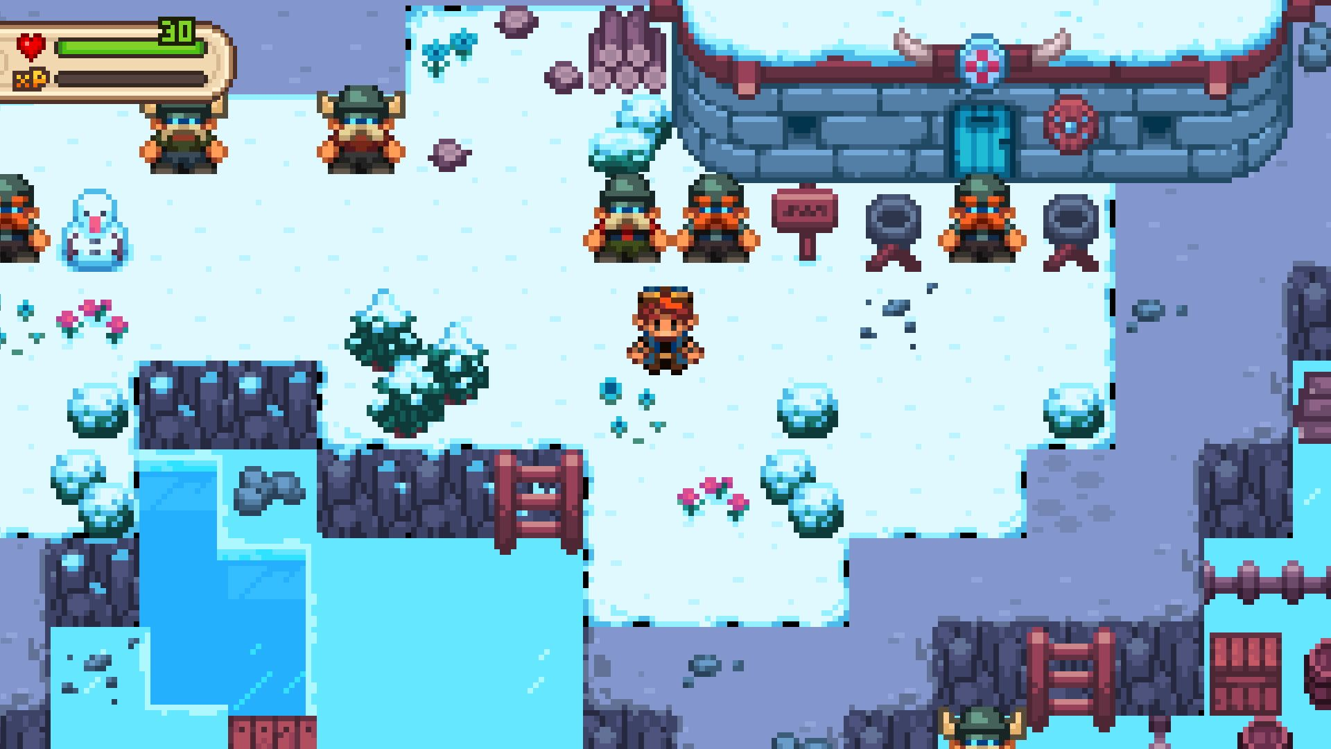 Screenshot from Evoland 2: A Slight Case of Spacetime Continuum Disorder (5/6)