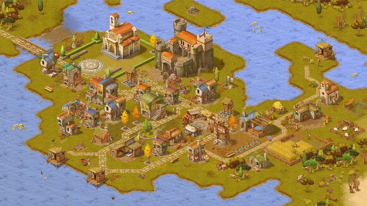 Screenshot from Townsmen - A Kingdom Rebuilt (3/5)