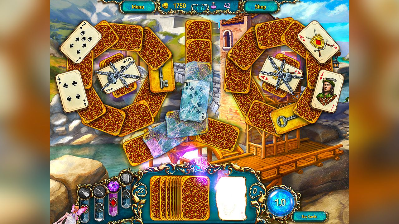 Screenshot from Dreamland Solitaire (7/8)