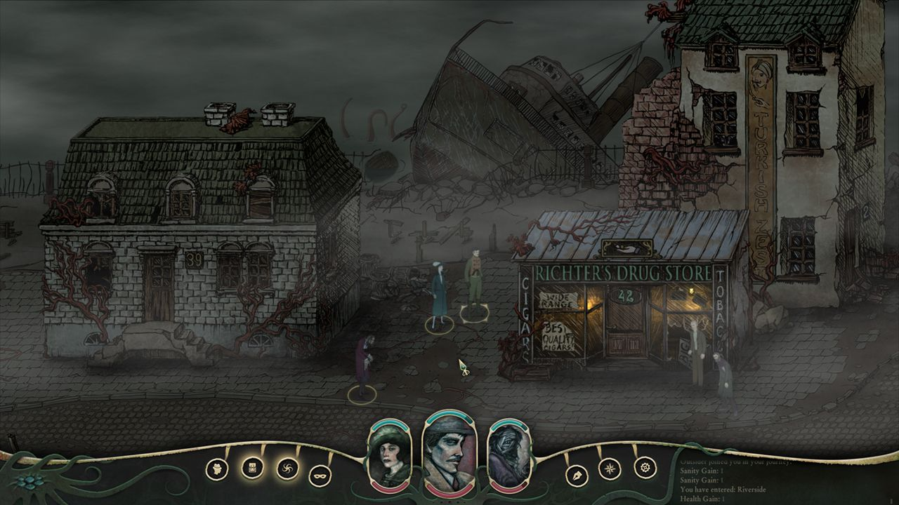 Screenshot from Stygian: Reign of the Old Ones (3/10)