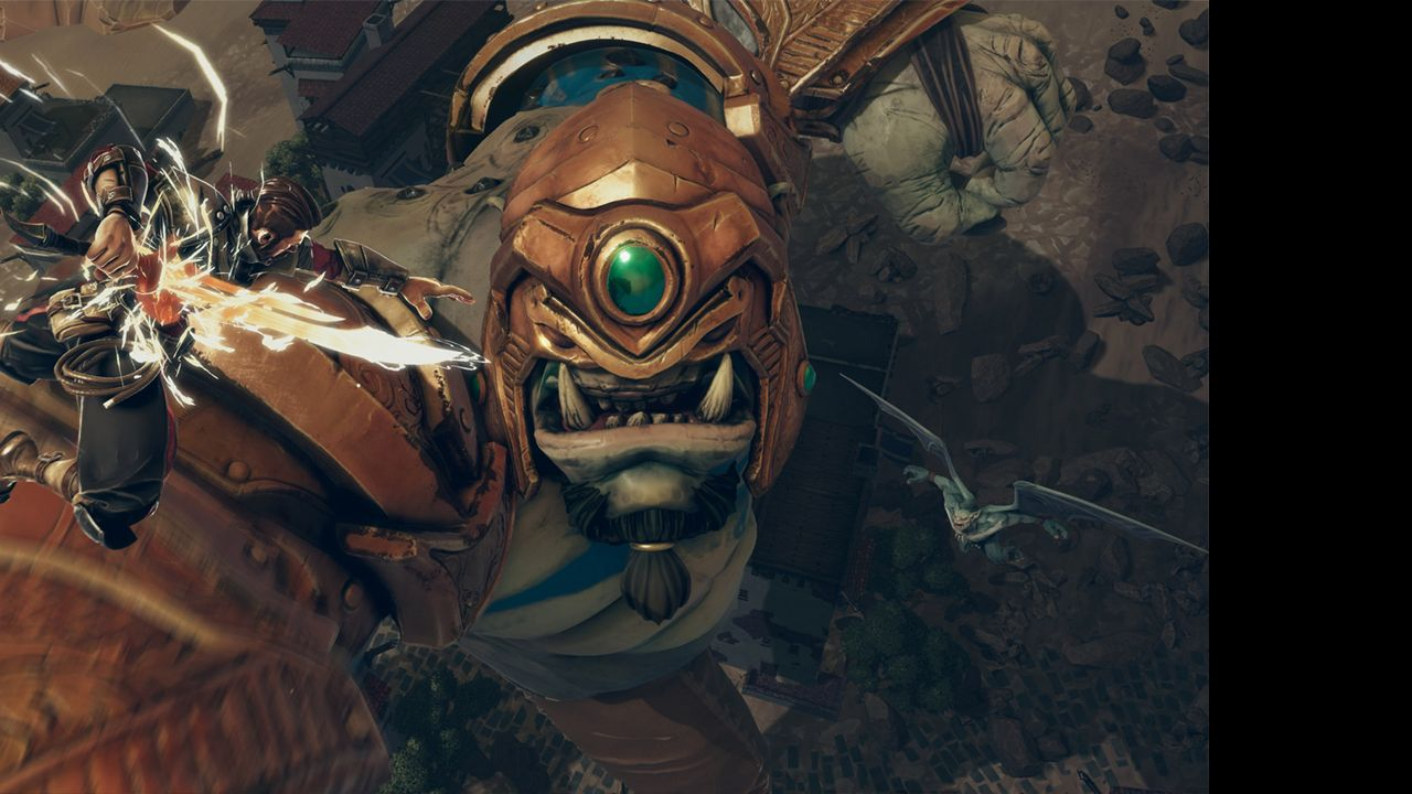 Screenshot from Extinction (3/5)
