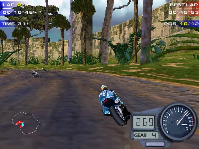 Screenshot from Moto Racer 2 (2/6)