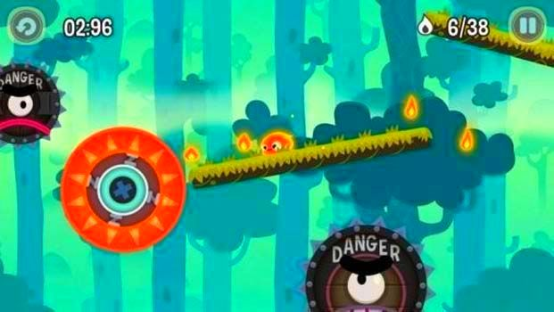 Screenshot from Pyro Jump (1/4)