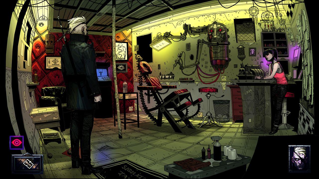 Screenshot from The Blind Prophet (2/6)
