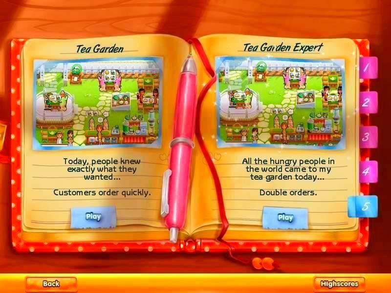 Screenshot from Delicious - Emily's Tea Garden (5/7)