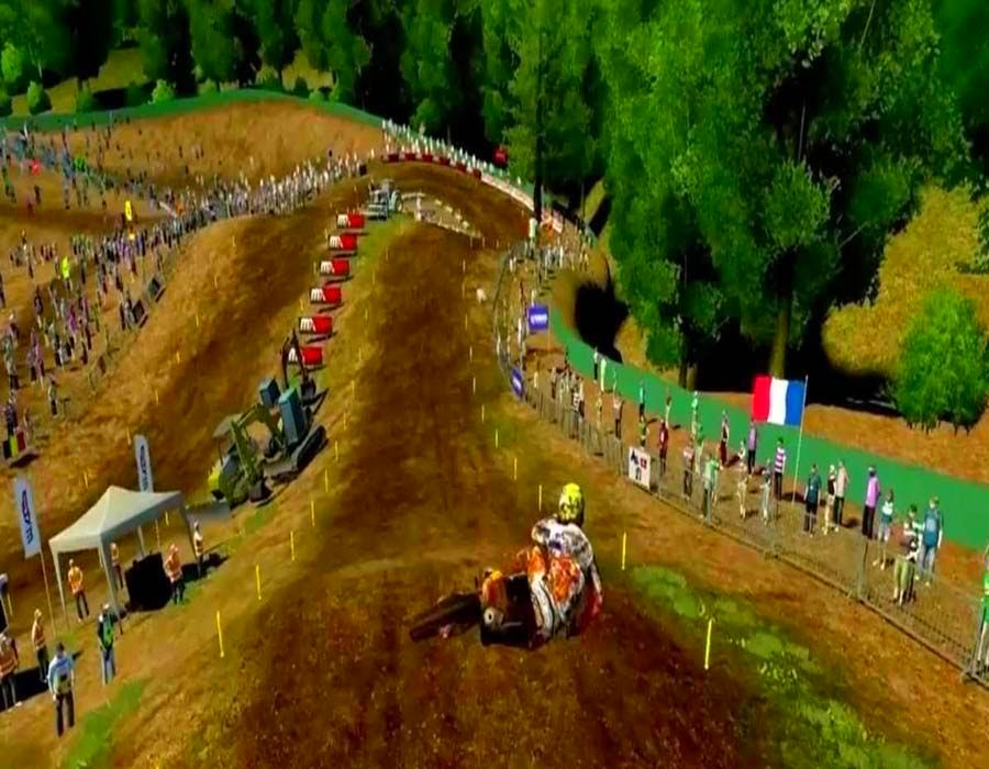 Screenshot from MXGP - The Official Motocross Videogame (5/5)
