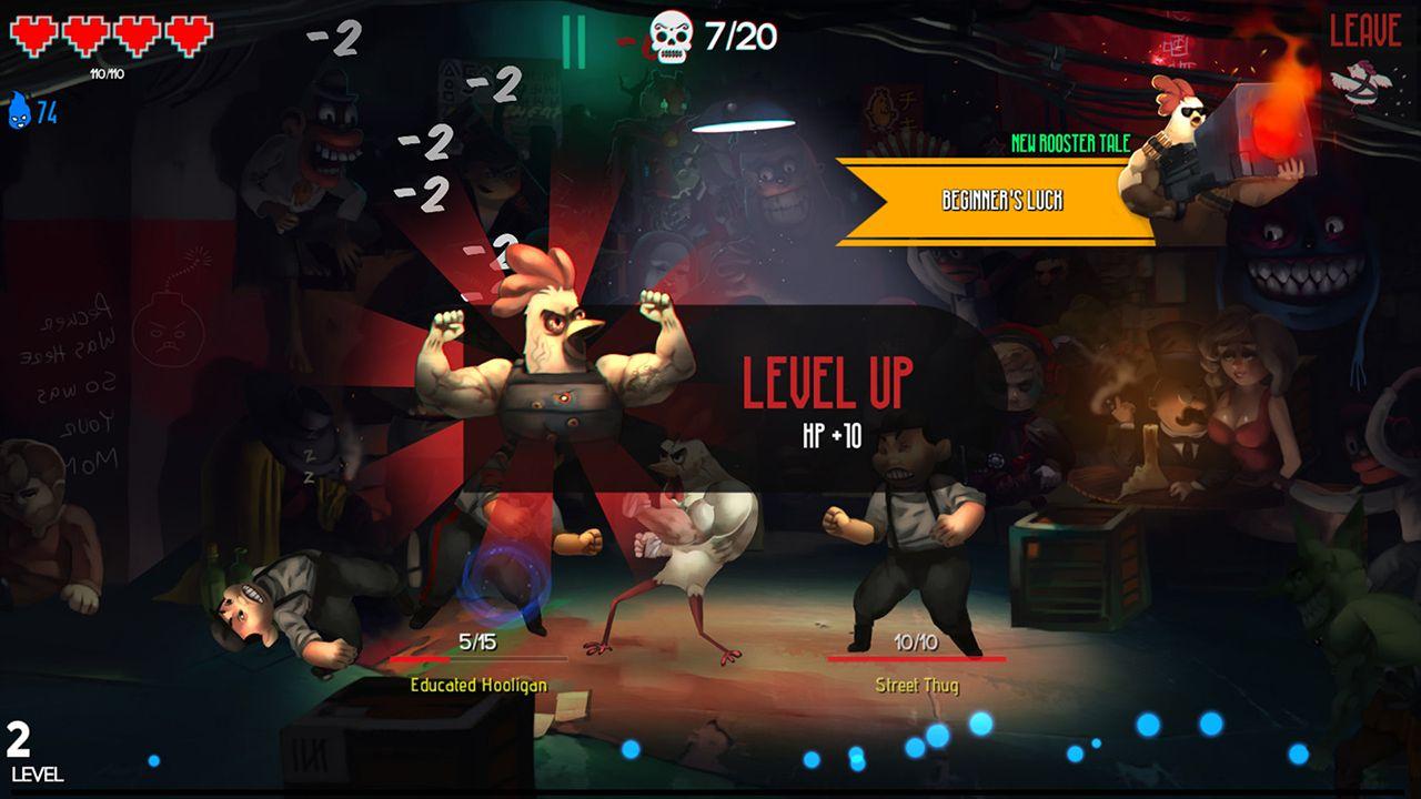 Screenshot from Chicken Assassin: Reloaded (9/10)