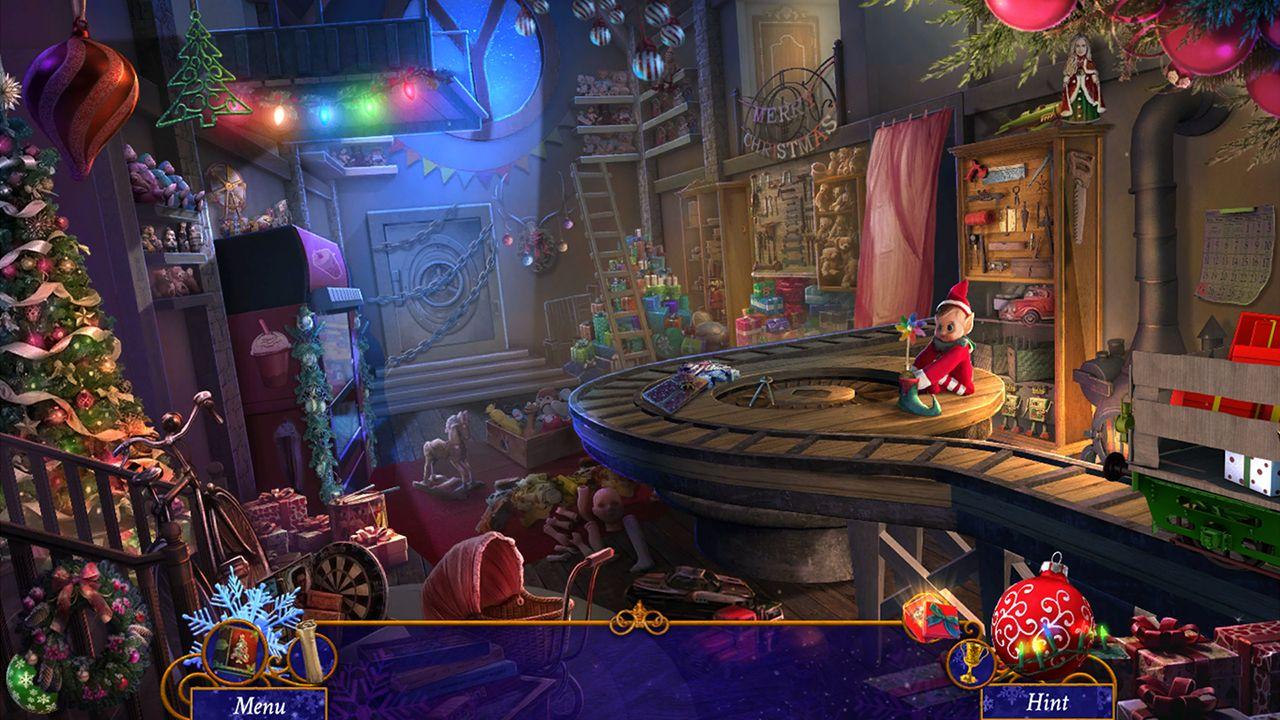 Screenshot from Yuletide Legends: Who Framed Santa Claus (1/7)