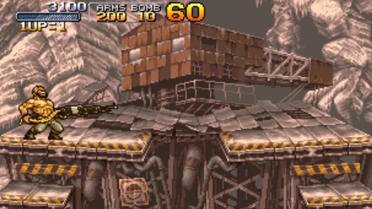 Screenshot from Metal Slug X (8/8)