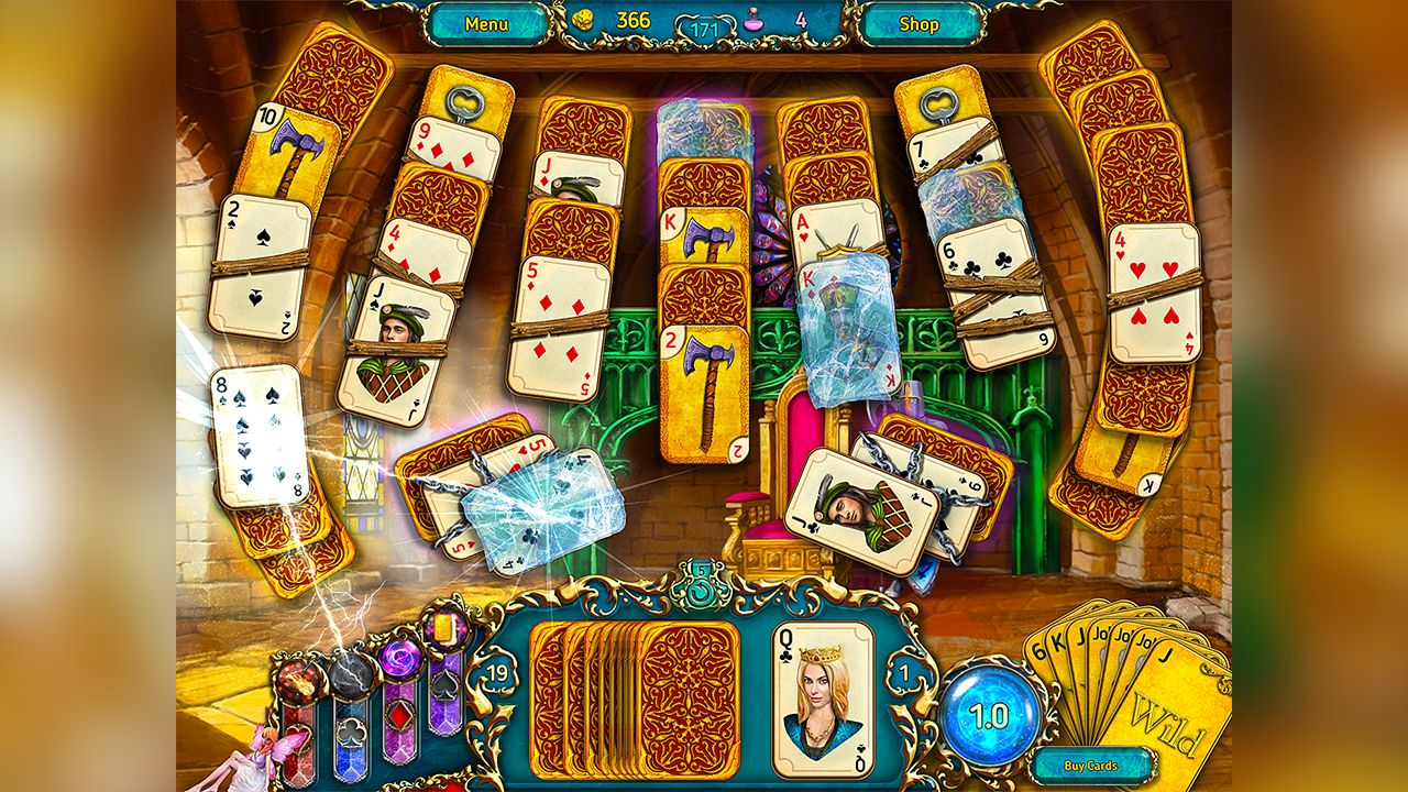 Screenshot from Dreamland Solitaire (3/8)