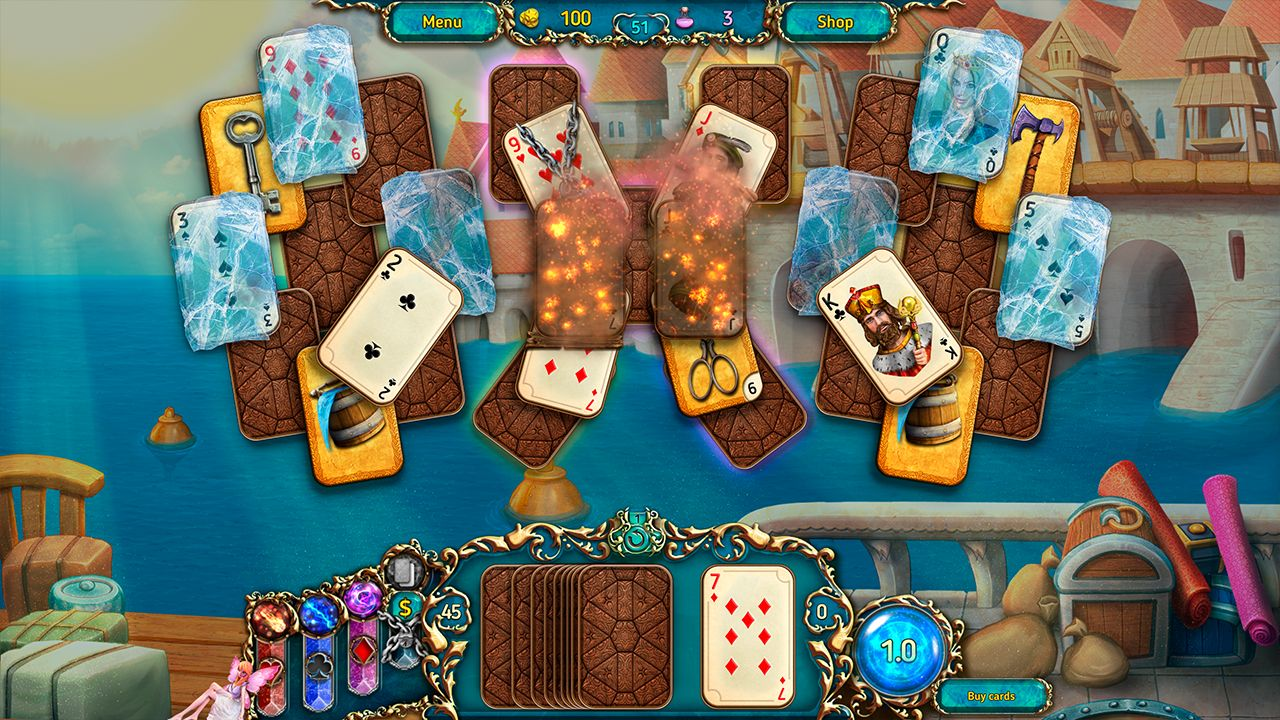 Screenshot from Dreamland Solitaire: Dark Prophecy Collector's Edition (3/8)