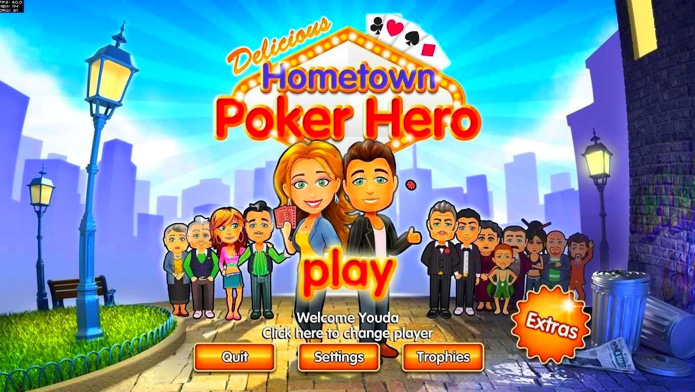 Screenshot from Hometown Poker Hero Standard Edition (1/2)