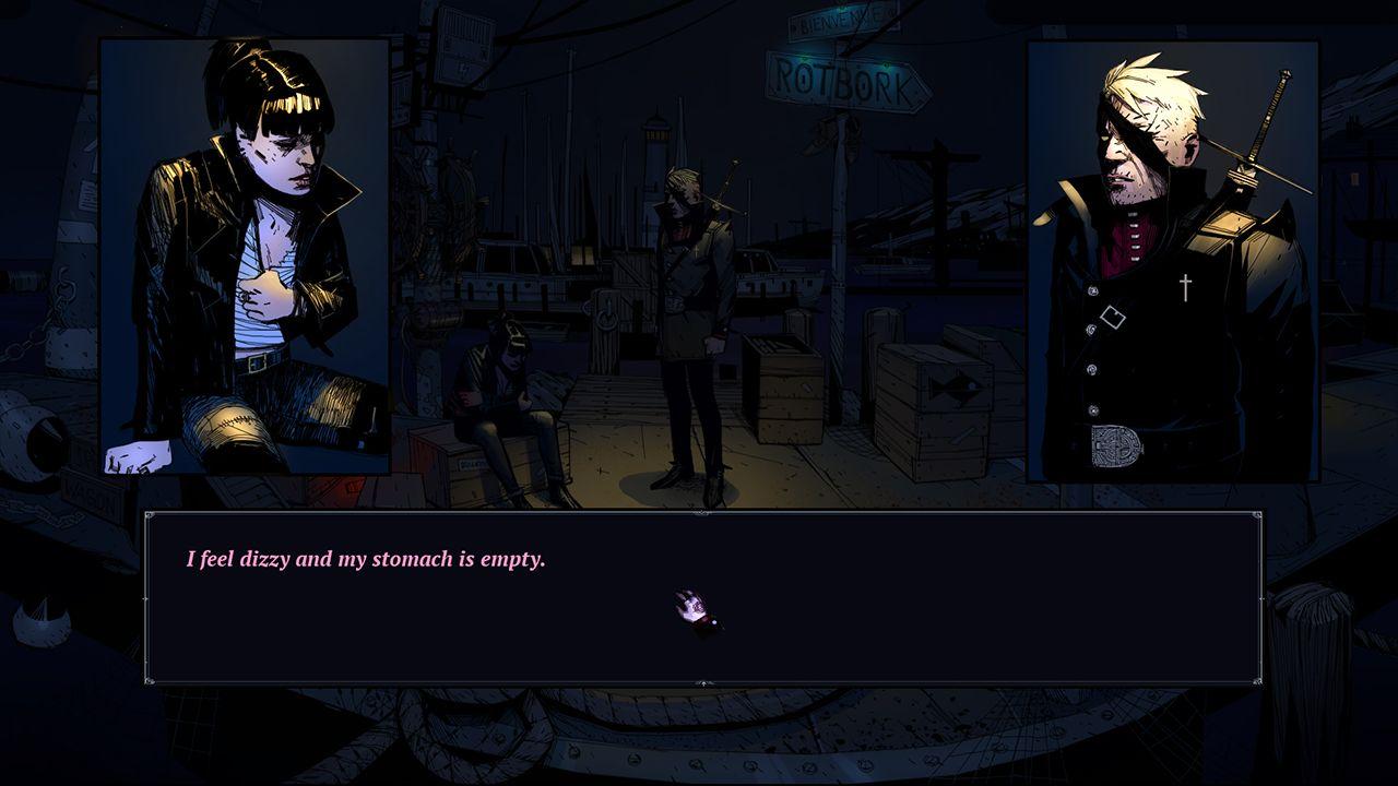 Screenshot from The Blind Prophet (3/6)