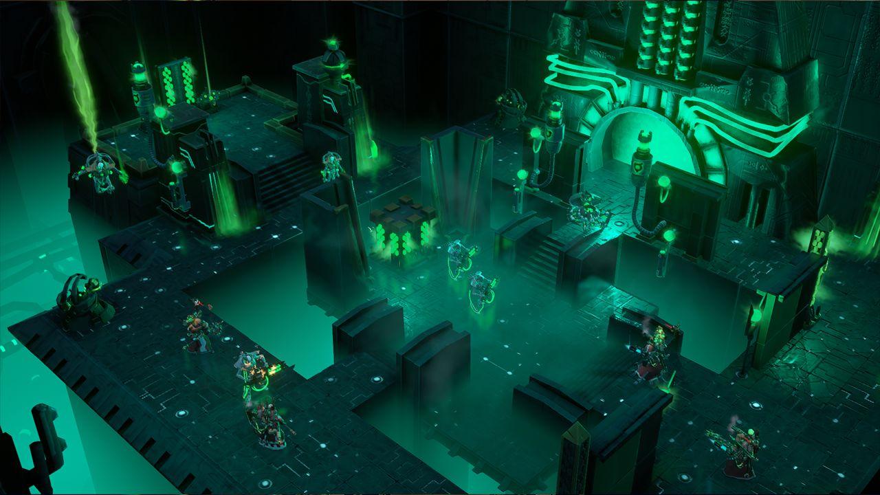 Screenshot from Warhammer 40,000: Mechanicus (4/9)