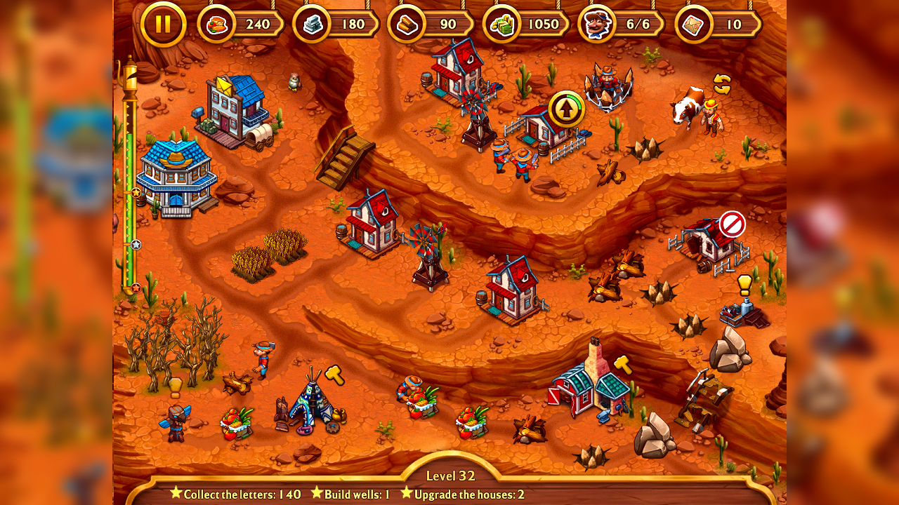 Screenshot from Golden Rails: Tales of the Wild West (4/5)