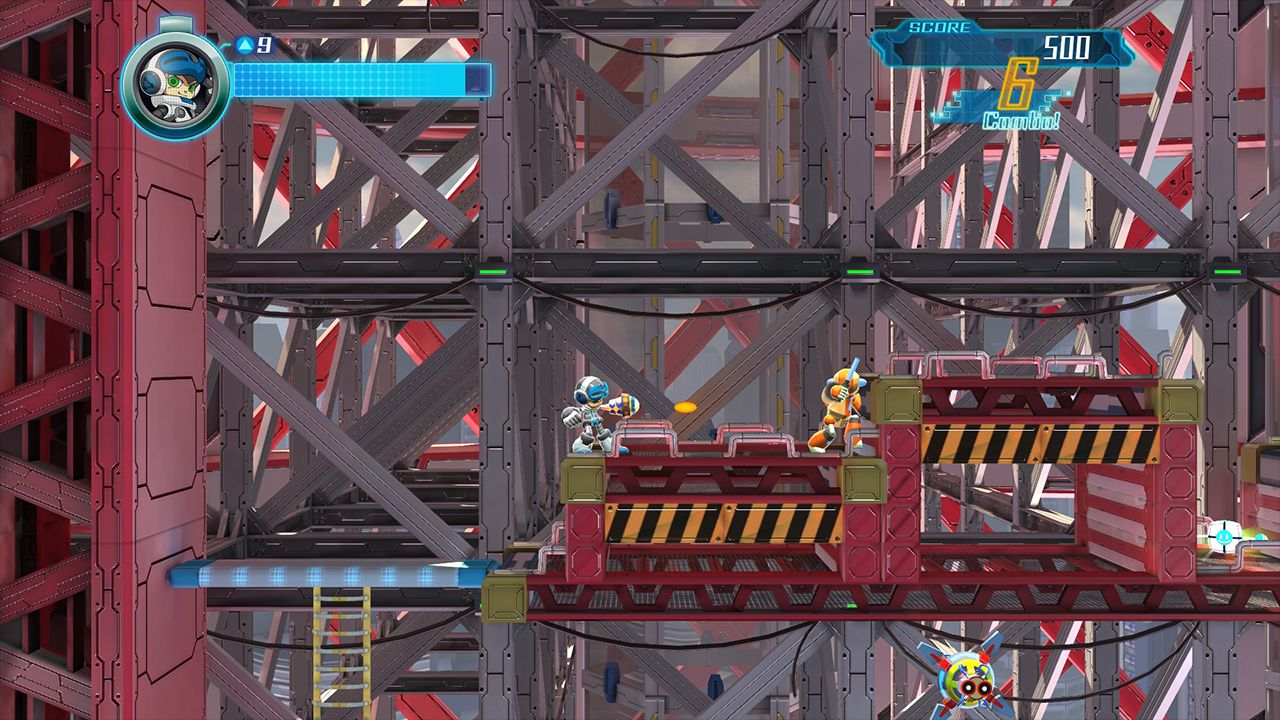 Screenshot from Mighty No. 9 (4/10)