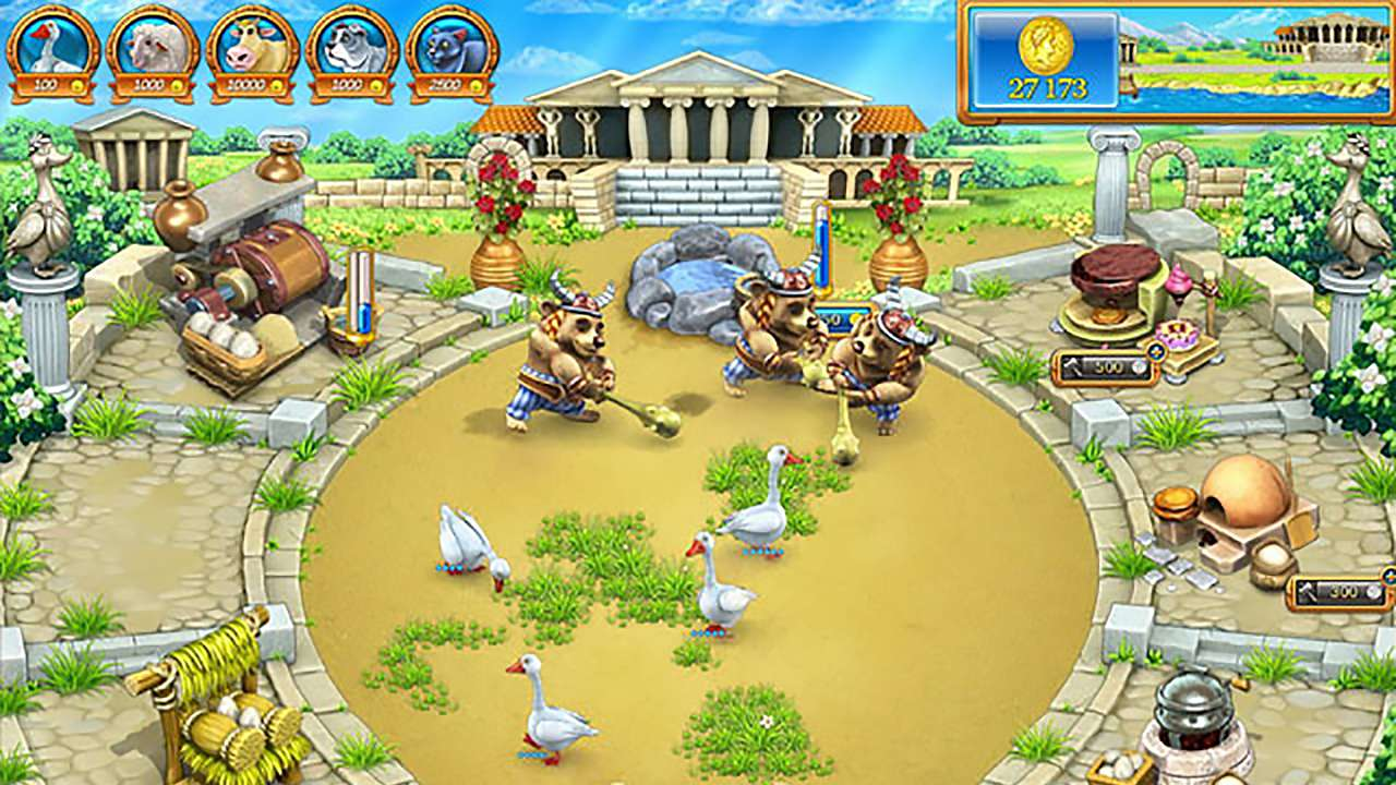Screenshot from Farm Frenzy: Ancient Rome (6/7)