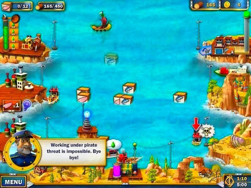 Screenshot from Youda Fisherman (2/4)
