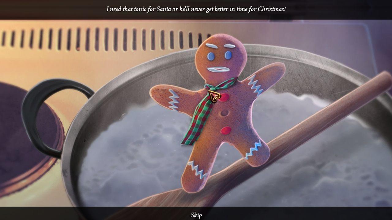 Screenshot from Yuletide Legends: Who Framed Santa Claus (3/7)
