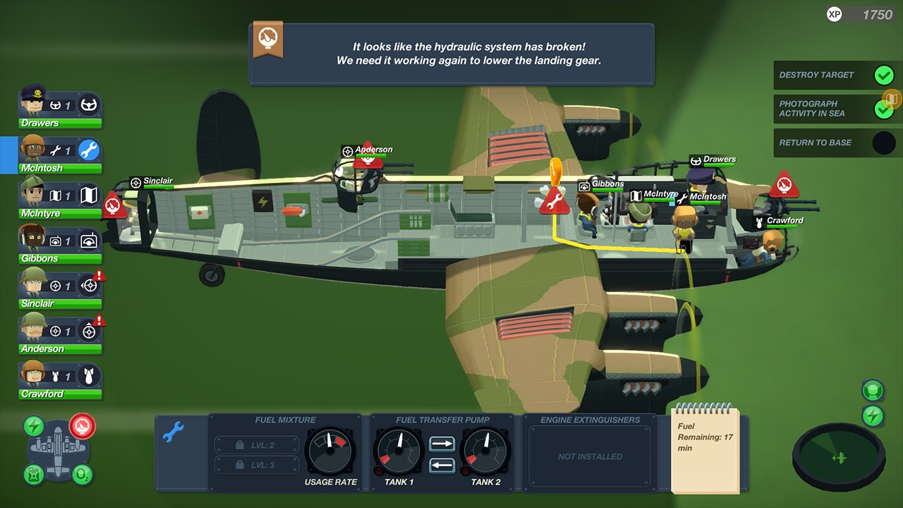 Screenshot from Bomber Crew (3/4)