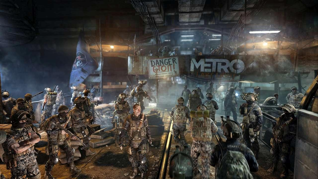 Screenshot from Metro Last Light Redux (2/8)
