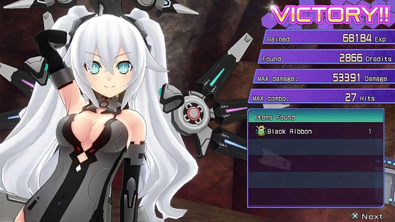 Screenshot from Hyperdimension Neptunia Re;Birth3: V Generation (6/10)