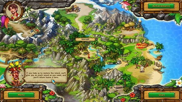 Screenshot from Moai: Build Your Dream (6/6)