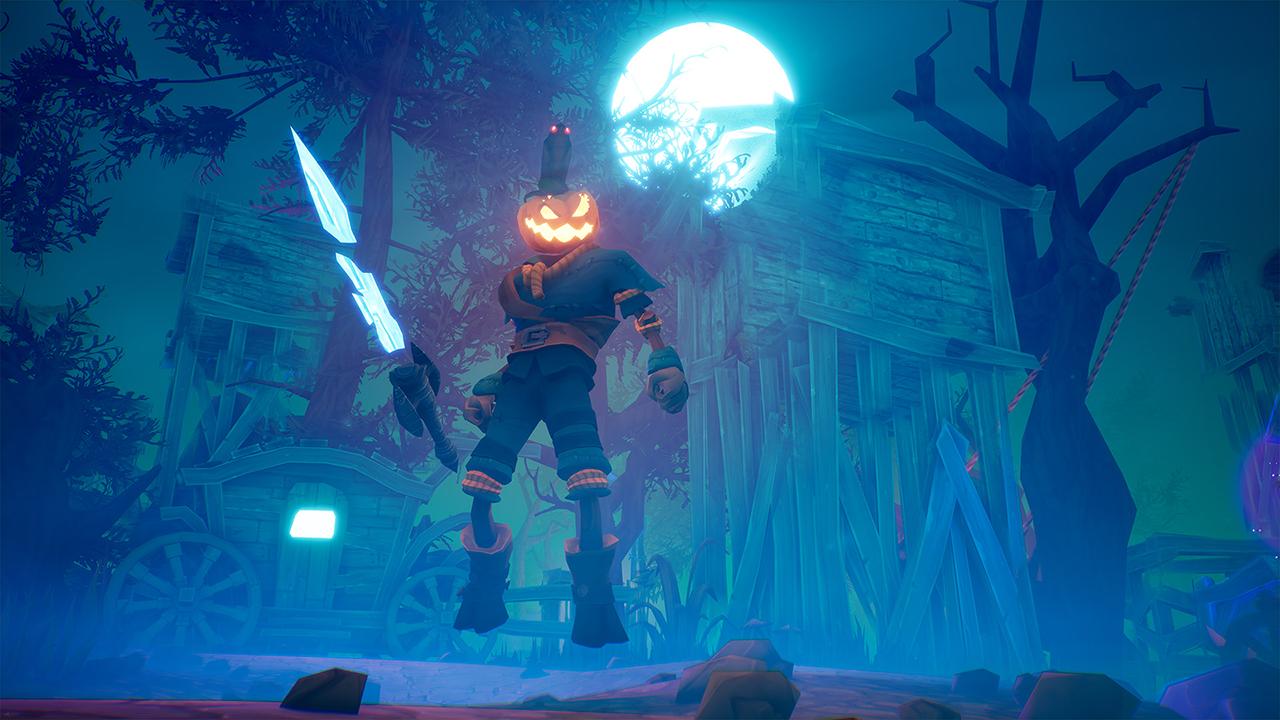 Screenshot from Pumpkin Jack (6/9)