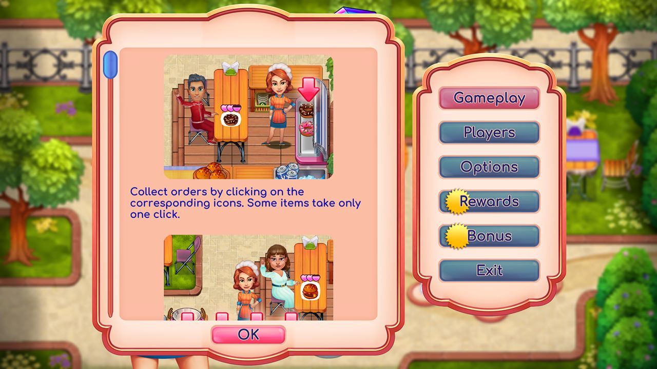 Screenshot from Claire's Cruisin' Cafe Collector's Edition (8/10)