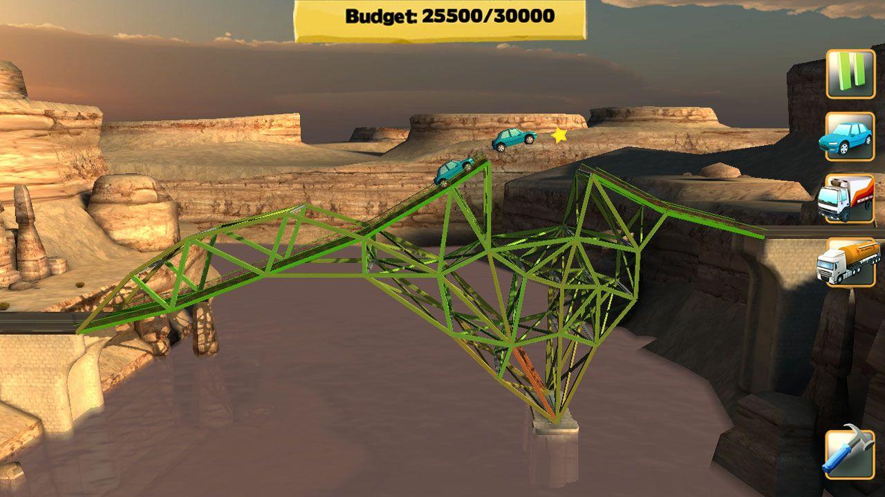 Screenshot from Bridge Constructor (2/7)