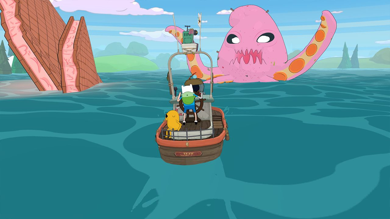 Screenshot from Adventure Time: Pirates of the Enchiridion (6/6)