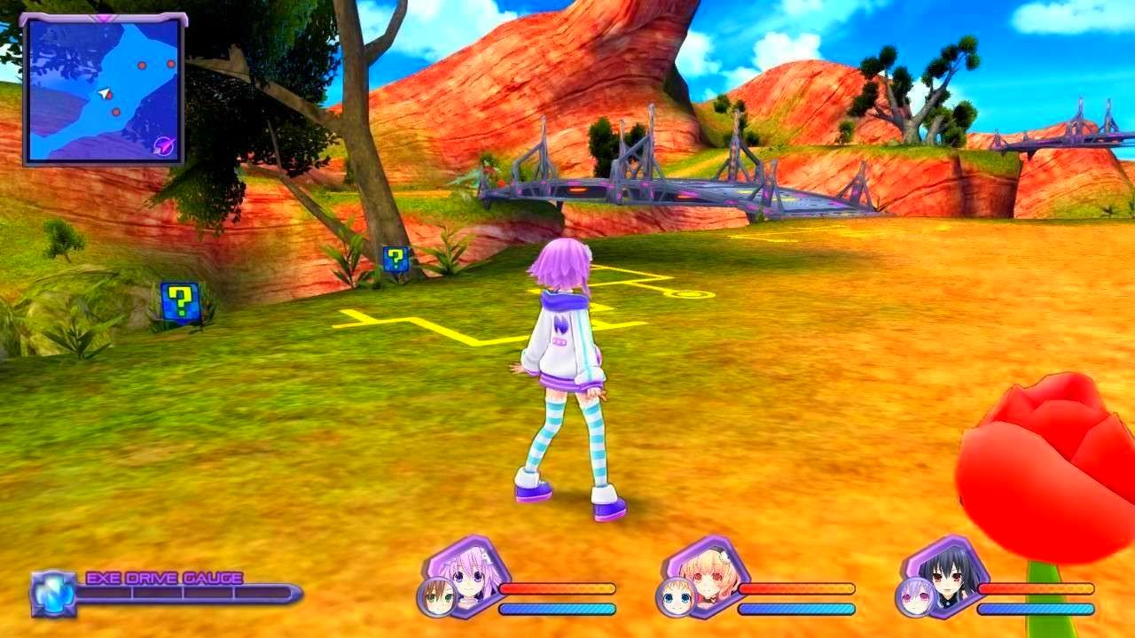 Screenshot from Hyperdimension Neptunia Re;Birth1 (9/10)