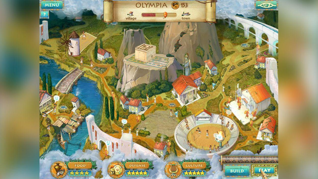 Screenshot from Heroes of Hellas 2: Olympia (4/8)
