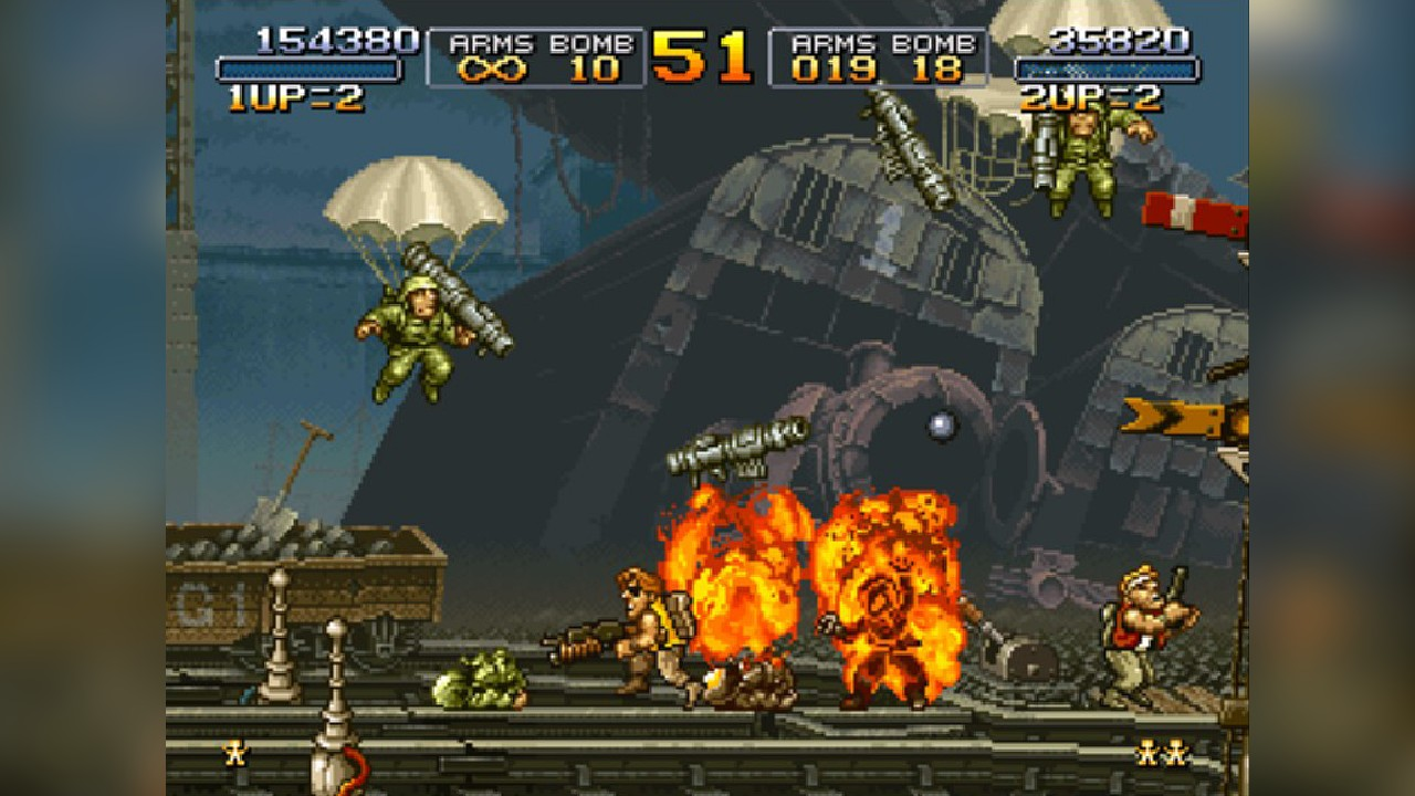 Screenshot from Metal Slug (5/9)