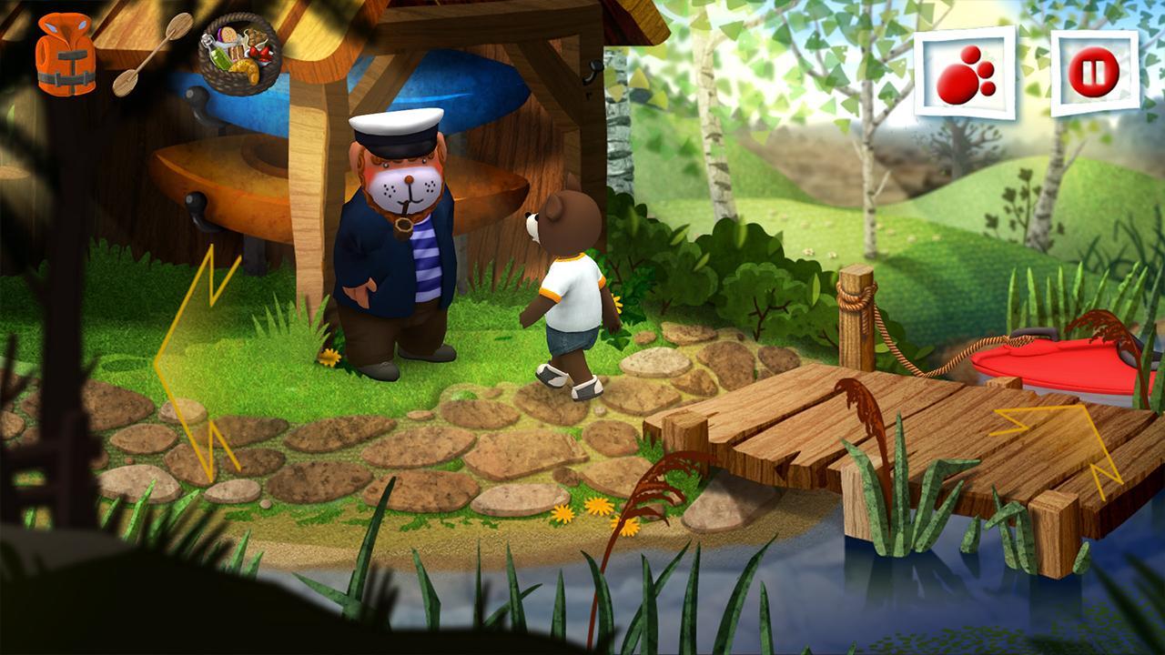 Screenshot from Teddy Floppy Ear - Kayaking (6/6)